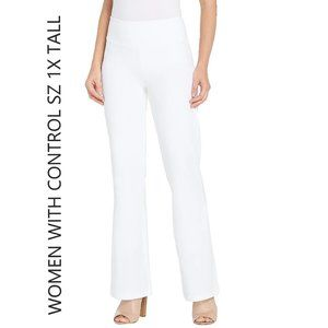 QVC Women with Control Tall Pull-On Knit Boot cut